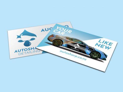 AutoSharp Business Card